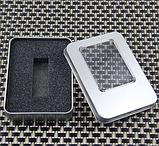 Флешка стекло 2 гб (круглая), фото 2