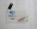 Флешка карточка прозрачная 2, 4, 8, 16, 32, 64 гб. Бесплатная доставка по Казахстану., фото 3