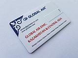 Флешка кредитка 2 гб. Бесплатная доставка по Казахстану., фото 2