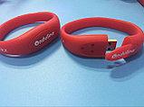 USB Флешка браслет  2 гб. Бесплатное лого. Бесплатная доставка по РК, фото 3