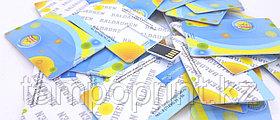 Флешка визитка  8 гб. Бесплатная доставка по РК.