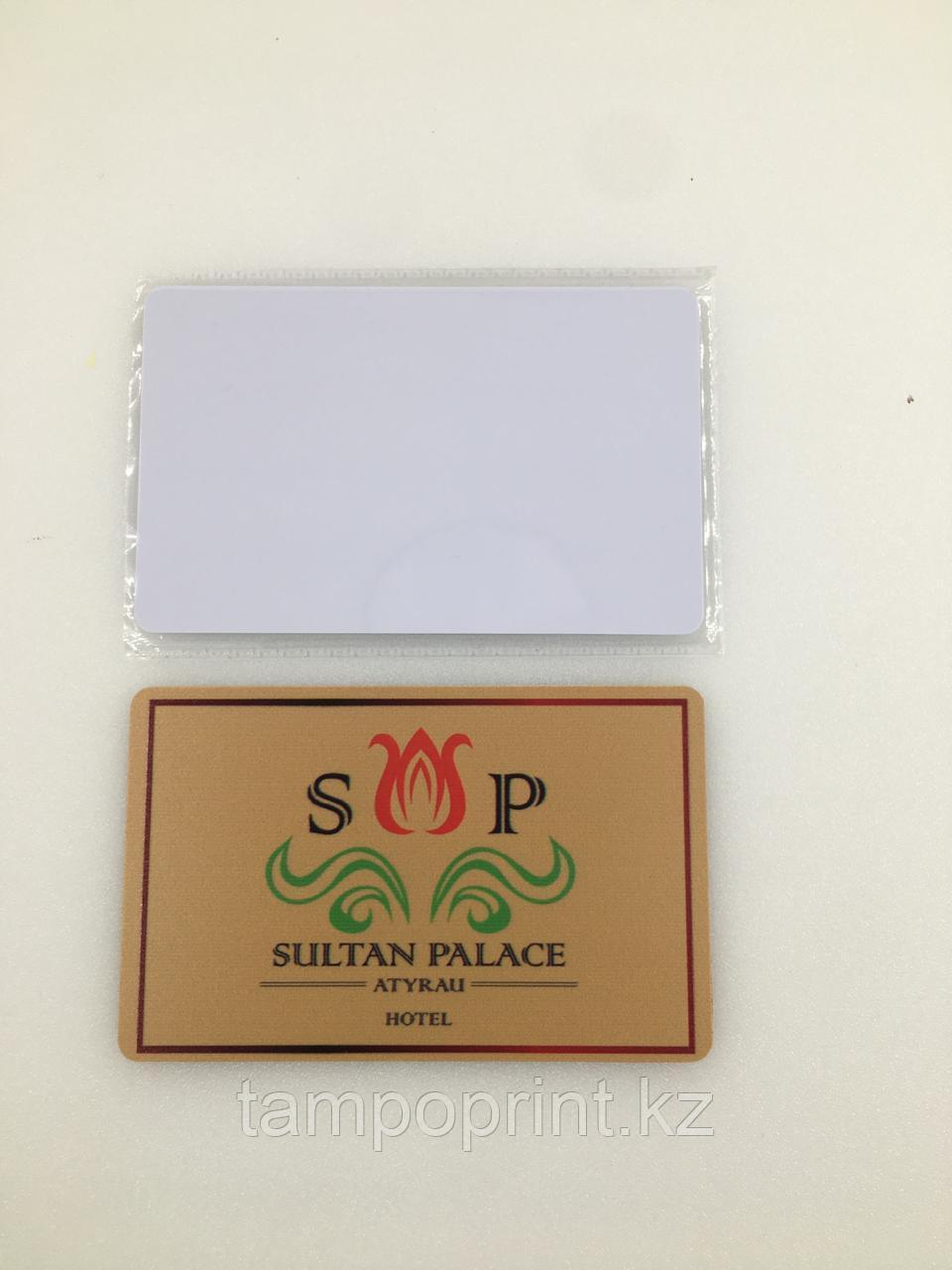 Печать на магнитных карточках