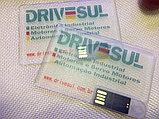 Флешка визитка прозрачная 16 гб. Бесплатная доставка по Казахстану., фото 3