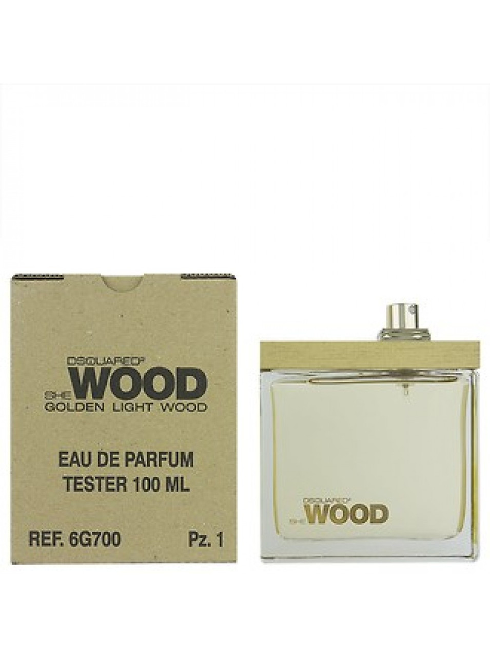 Dsquared2 She Wood Golden Light Wood edp tester 100ml