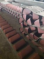 Ремень норийный 400 мм в сборе с ковшами по 4 шт на метр