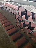 Ремень норийный 300 мм в сборе с ковшами по 5 шт на метр, фото 2