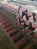 Ремень норийный 450 мм в сборе с ковшами по 5 шт на метр, фото 2