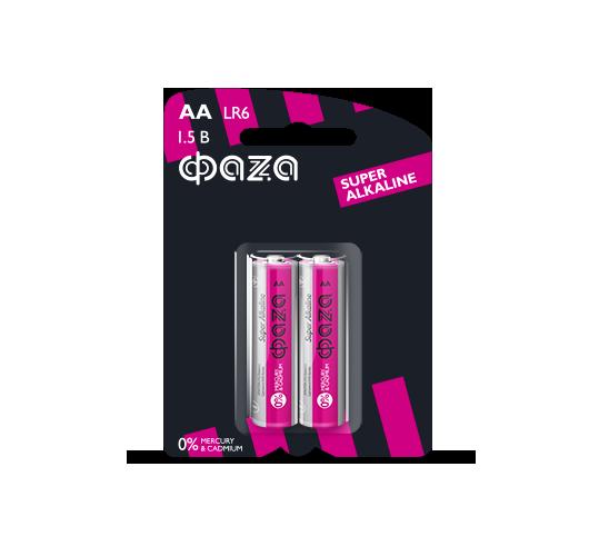 Батарейки ФAZA LR6SA-B2