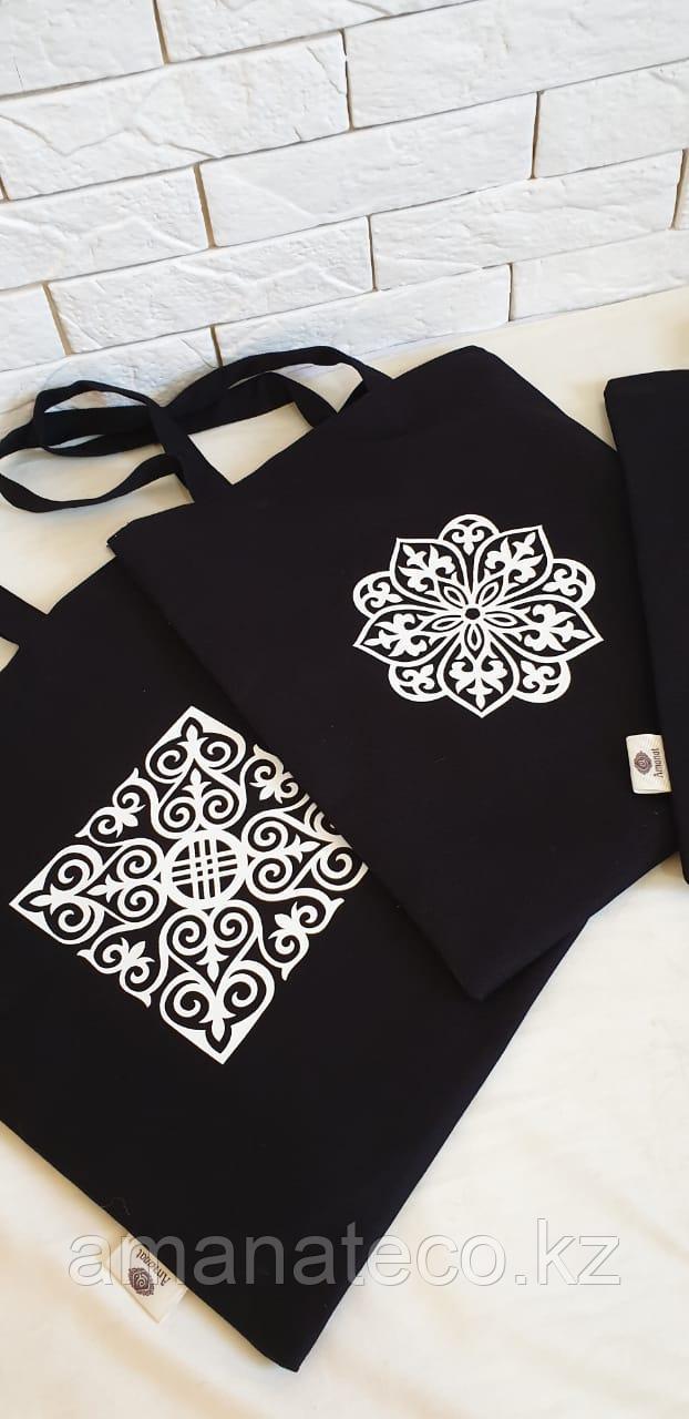 Эко сумка черный - фото 3