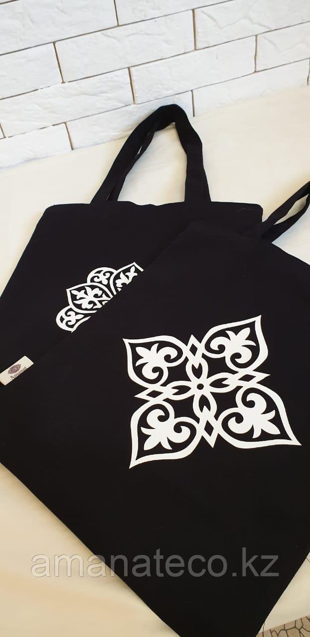 Эко сумка черный - фото 4