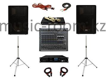 Комплект звукового оборудования 800 Ватт (H класс)