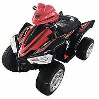 Электроквадроцикл, колеса EVA, красно-черный ZHEHUA