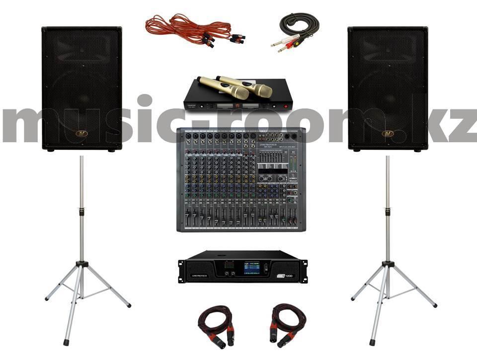 Комплект звукового оборудования 1200 Ватт (класс Н)