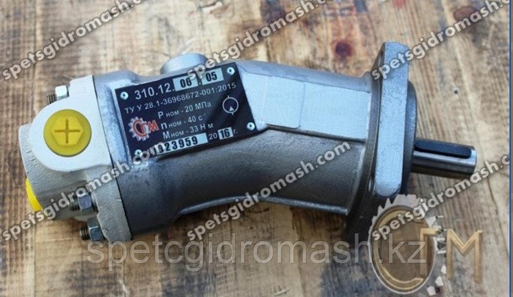 Гидронасос 310.12.06.05 аксиально-поршневой нерегулируемый, шпоночный вал - левого вращения