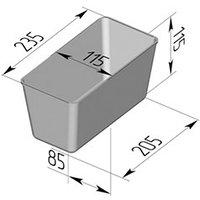 Форма для хлеба  №6  (235х115х115мм)