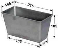 Форма для хлеба №10 (215х105х105мм)