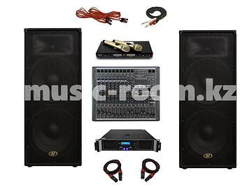 Комплект звукового оборудования 2400 Ватт ( класс H)