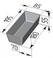 Форма для хлеба №14 (195х85х55мм)