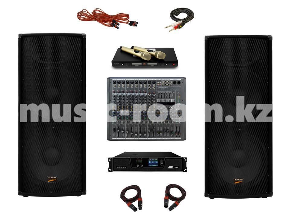 Комплект звукового оборудования 1200 Ватт (H класс)