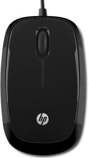 Оптическая светодиодная проводная мышь HP X1200 Wired H6E99AA (Black)