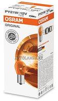 7507 Лампа качество (ОЕМ) PY21W 12V 21W BAU15s ORIGINAL LINE уп.10шт.цена за 1 шт.