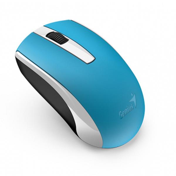 Беспроводная оптическая мышь Genius ECO-8100 (Blue)