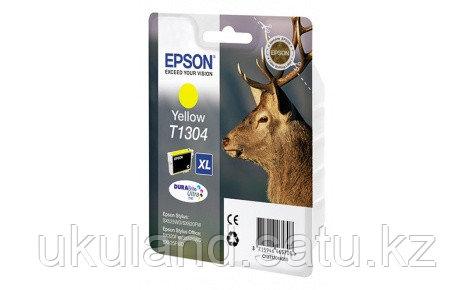 Картридж Epson C13T13044012 I/C B42WD желтый new
