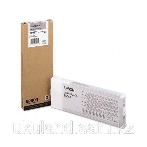 Картридж Epson C13T603700 SP-7880/9880 серый
