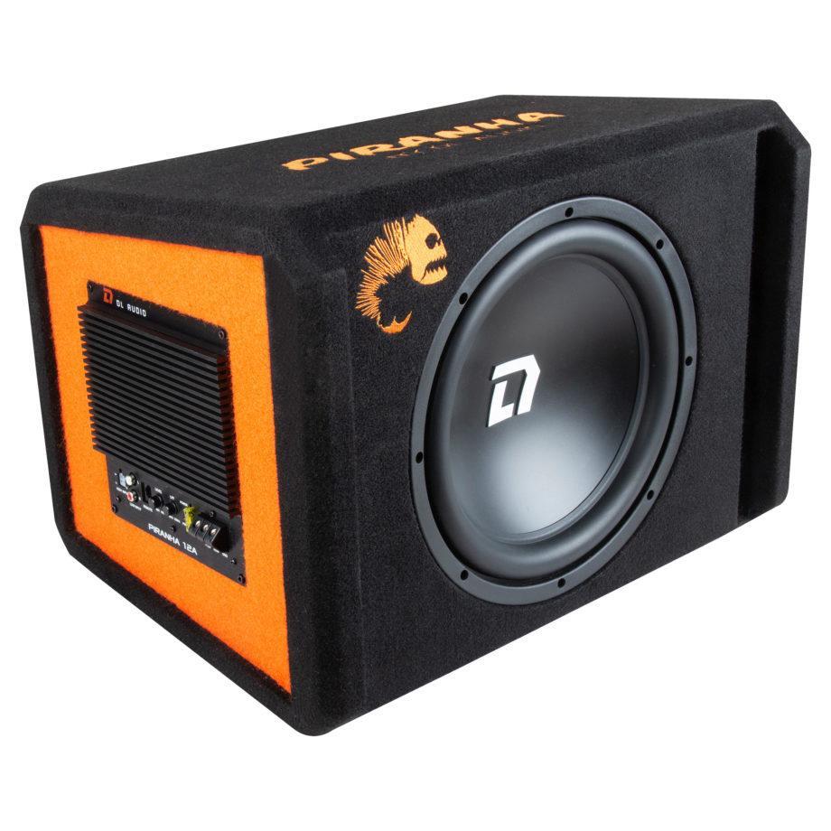 Активный сабвуфер DL Audio 12 Pirania Black