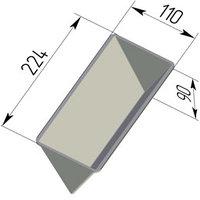 """Форма для хлеба """"Треугольная"""" (225 х 110 х 90 мм)"""