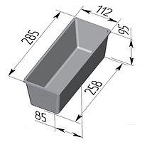 Форма для хлеба Тостерная (285 х 110 х 95 мм)
