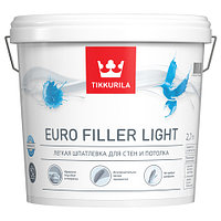 Euro Filler Light - легкая шпатлевка для стен и потолка 9 л.