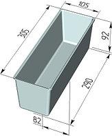 Форма для хлеба Тостерная (300 х 120 х 120 мм )