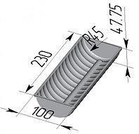 Форма для хлеба «Волнистая»  (230 х 100 х 48 мм)