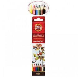 Koh-I-Noor Акварельные Цветные Карандаши «Рыбки», 6 цветов
