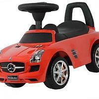 Машина/Каталка МЕРС с музыкальной панелью Красный Chilok BO