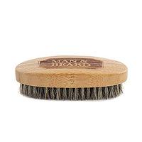 Щетка для бороды Man & Beard деревянная