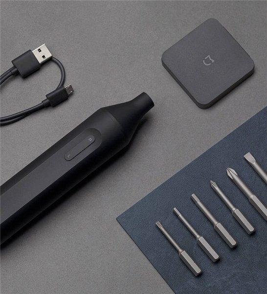 Электрическая отвертка Xiaomi Mijia Electric Screwdriver (черный) (MJDDLSD002QW)