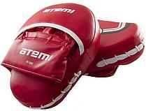 Лапы тренировочные вогнутые Atemi цвет красный размер М (26х20х8см), LTB-16501