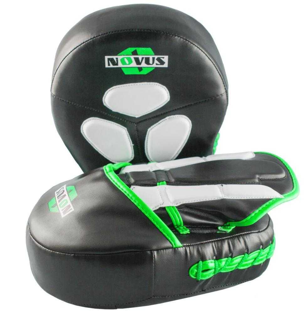 Лапы тренировочные Novus цвет зеленый, LTB-16511