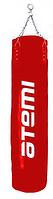Мешок боксерский без набивки PS-10003 (90х30), натуральная кожа, красный