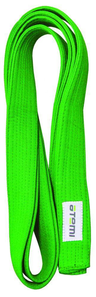 Пояс для кимоно ATEMI, 280 см, зеленый