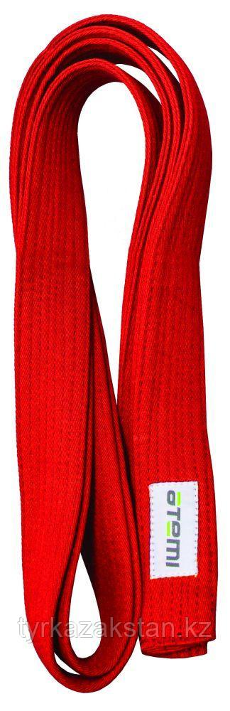 Пояс для кимоно ATEMI, 280 см, красный