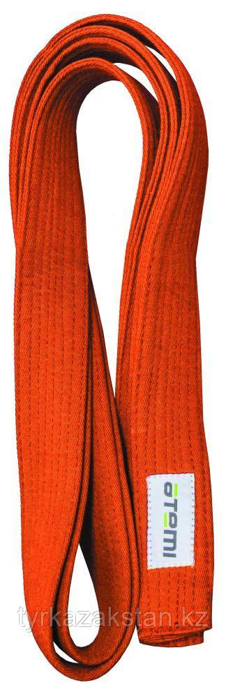 Пояс для кимоно ATEMI, 280 см, оранжевый