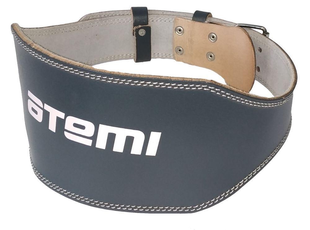 Пояс тяжелоателтический Atemi, AFB04XL, кожа, 15 см, размер XL