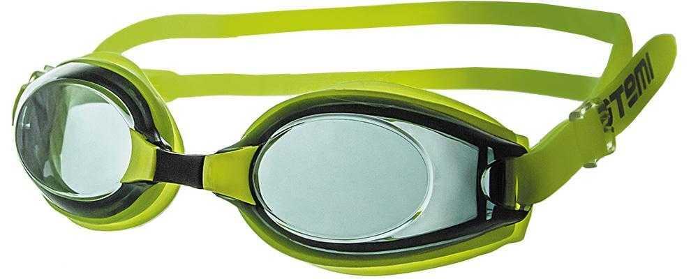 Очки для плавания Atemi, силикон (жёлт), M403