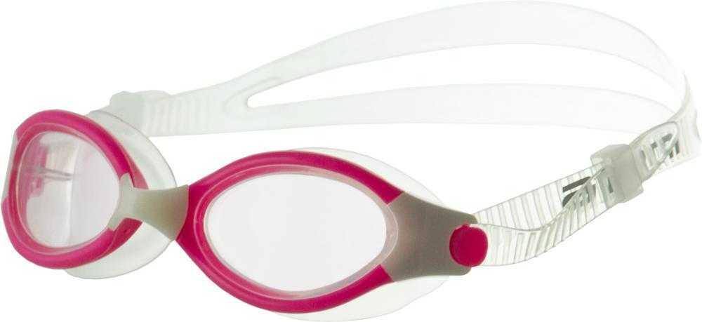 Очки для плавания Atemi, силикон (роз/бел), B503
