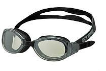 Очки для плавания Atemi, зерк., силикон (чёрн), B101M