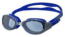 Очки для плавания Atemi, зерк., силикон (син), B102M