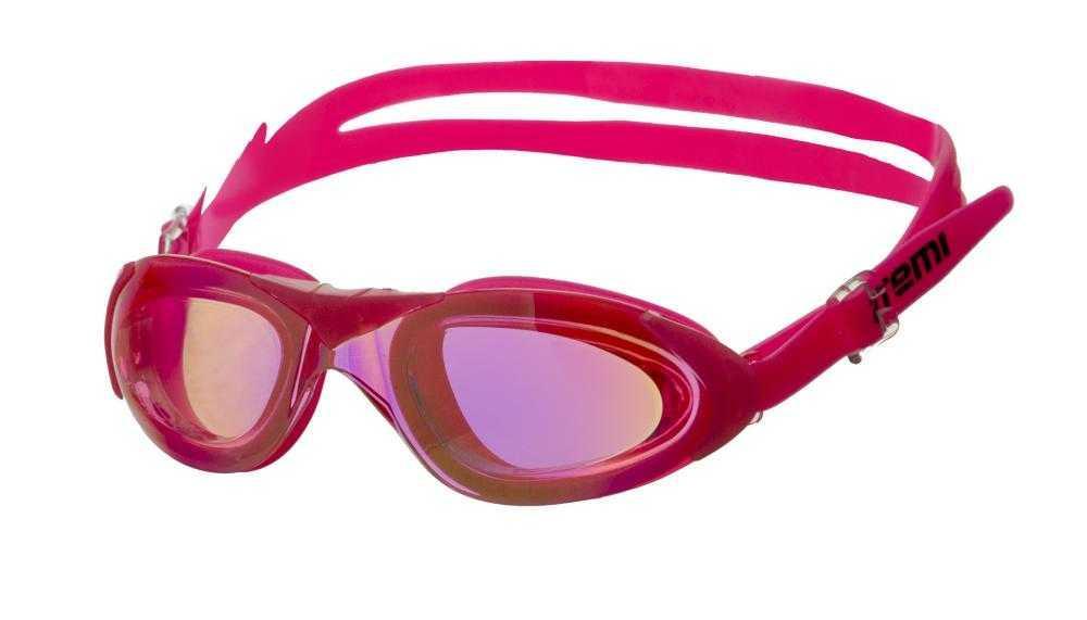 Очки для плавания Atemi, силикон (роз), N9600M